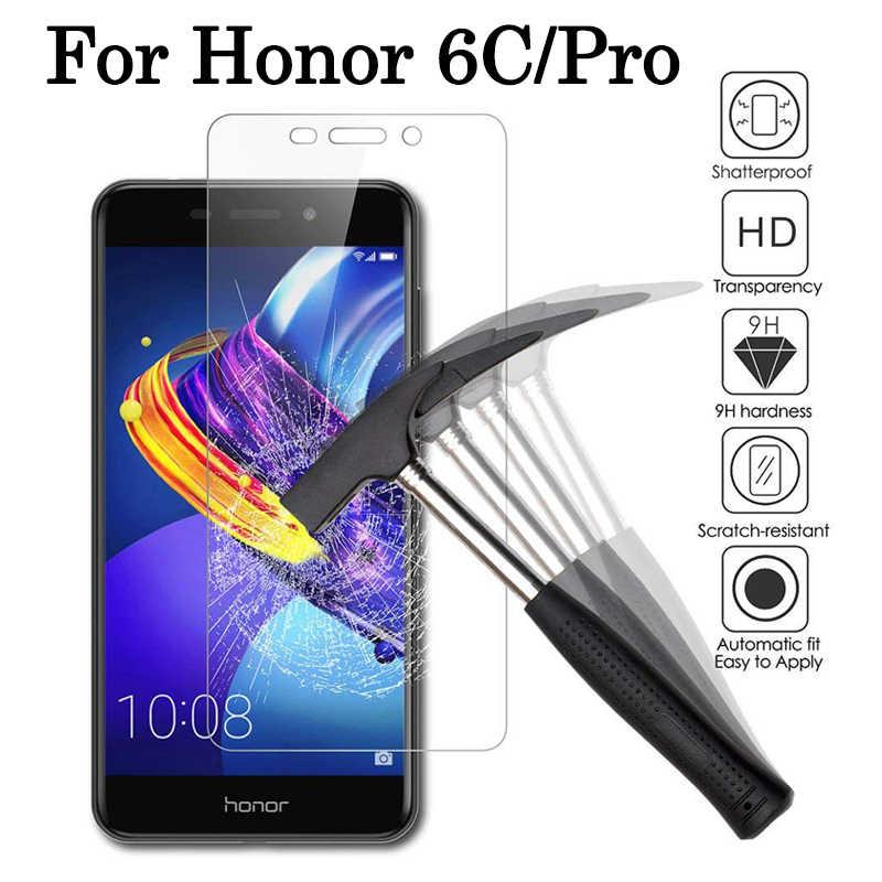 Honor6C Защитное стекло для huawei Honor 6C Pro 6CPro защита экрана Hwawei Honer 6 C C6 plus армированный лист закаленное стекло