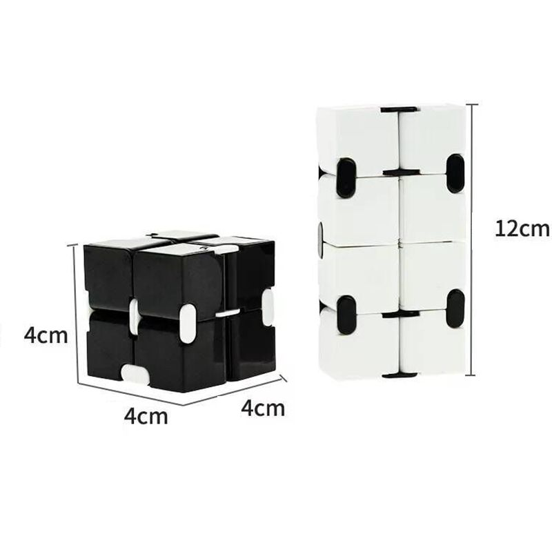 Decompression Toy Maze Magic Cube Hand-Game Square Relieve-Stress Funny Four-Corner Infinity img3