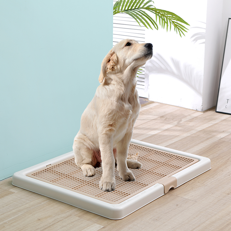 76X62cm Large Dog Toilet Medium Large Dog Toilet Raining Litter Box Strong Indoor Small Dogs Cats Self Cleaning Potty