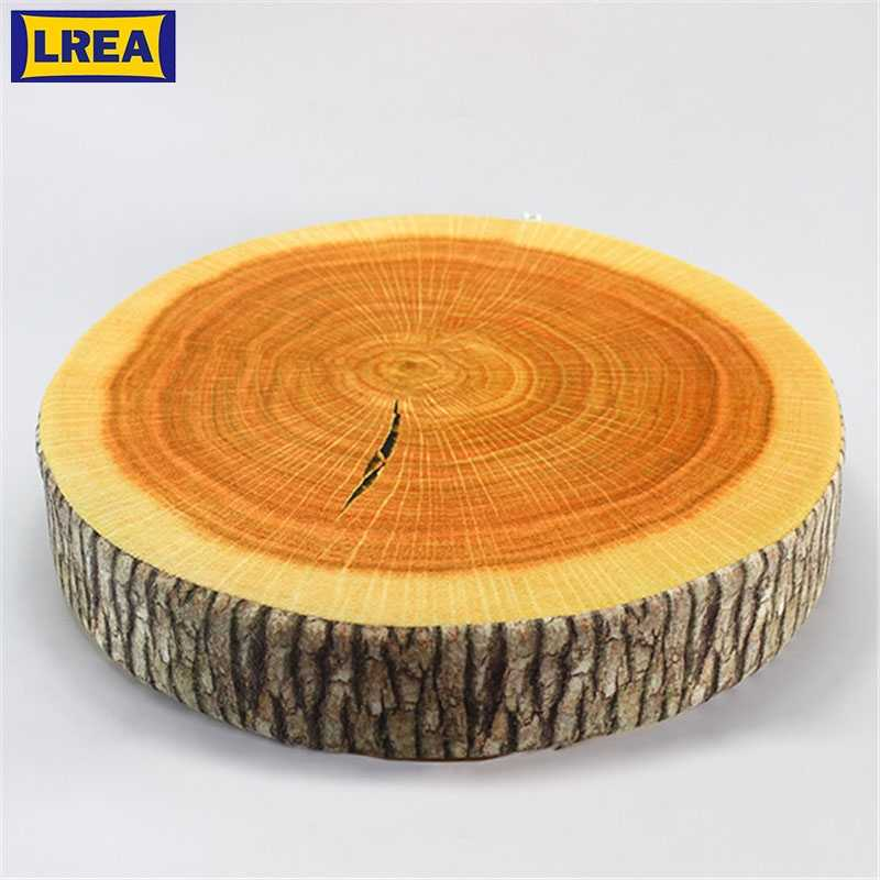 Lrea Hot Sale Pastoral Style Printed Plant Round Creative Tree