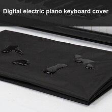 Электронный цифровой пианино клавиатура крышка пылезащитный прочный складной для 88 61 Ключ AIA99