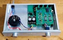 1PCS Silver/Black C11 Pre Amplifier Full Balance Single End Class A Pre Amplifier 3 Way Balance Input 1 Way Balance Output AP61