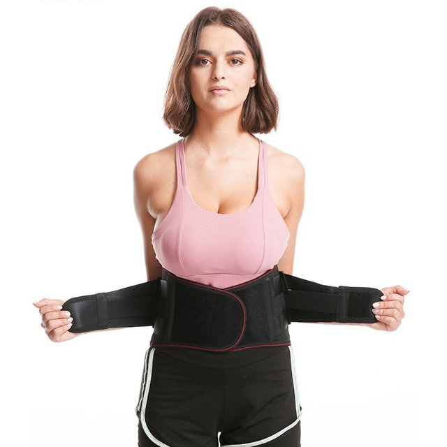 M-XL Hot Waist Band Gym Fitness Sports Exercise Waist Support Pressure Protector Body Building Belt Slim Item Sweat 1