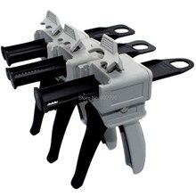 50ml 1:1/1:2/10:1/1:10 Cartridge Dispenser Gun Manual Epoxy Applicator Gun Epoxy Resin AB Glue Acrylic Adhesive Applicator