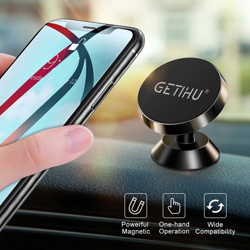 Soporte magnético Universal para teléfono móvil de coche de GETIHU, soporte magnético para salida de aire de móvil, soporte GPS para iPhone 11 Pro Xs Max X Xiaomi