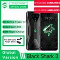 Globale Version Schwarz Shark 3 8GB 128GB Snapdragon 865 5G Spiel Telefon Octa Core 64MP Triple AI kameras 65W Ladegerät JOYUI 11
