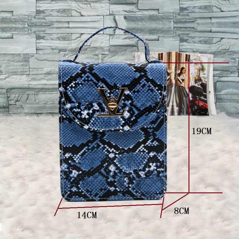 Schlange haut Frauen Tasche Vintage Crossbody-tasche Für Frauen 2020 Weibliche Kleine handtasche Leder Schulter Tasche Luxus Designer Frauen Kupplung