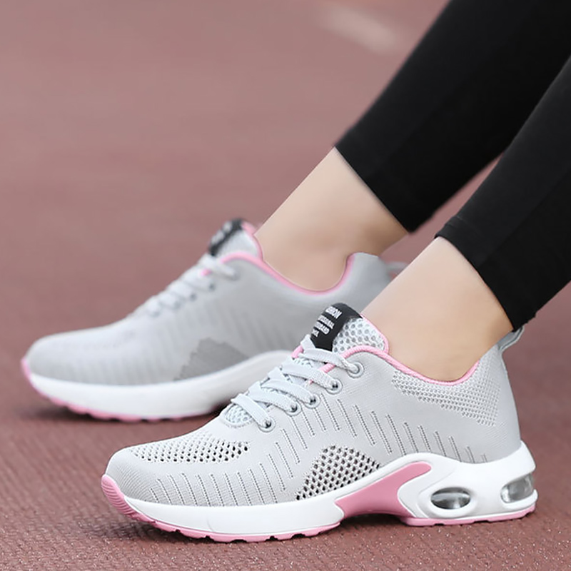 Sports shoes woman Casual woman sneakers Mesh Platform shoes Female tennis Large size 42 Summer footwear Nonslip