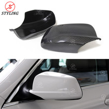 F10 Real Carbon Mirror Cover For BMW 5 series Pre-Lci 520i 528i 535i Side RearView Mirror Cover caps Replacement 2010 2012 2013 цена в Москве и Питере