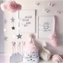 Ins, ручная работа, горячая новинка, облако, Новорожденный ребенок в кроватке, декор для детской комнаты, реквизит для фотосъемки, украшение для детской спальни