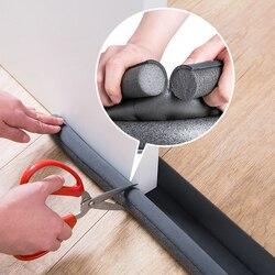 93cm Self Adhesive Door Sealing Strips Window Foam Windproof Dustproof Reduce Noise Door Bottom Soundproof Sealing Weather Strip