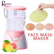 Ranmei DIY Mini Face Mask Maker Automatic Vegetable Natural Collagen Fruit Face Mask Machine Skin Care Spa Home Salon Tool