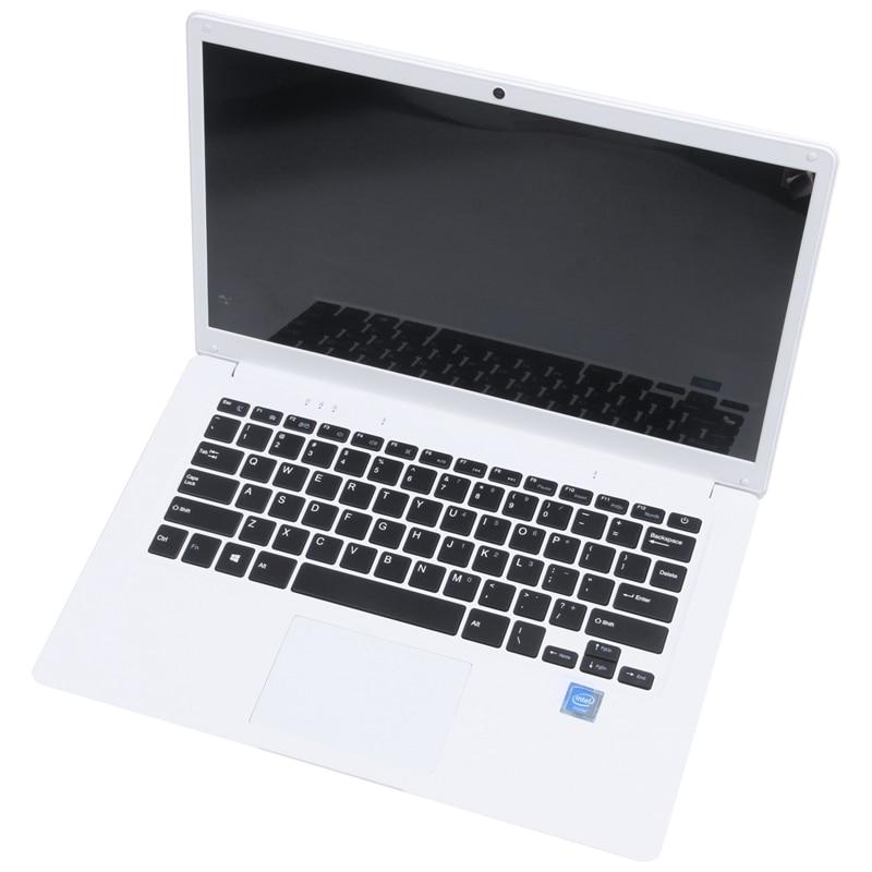 14.1 inch Hd Lightweight and Ultra-Thin 2+32G Lapbook Laptop  Z8350 64-Bit Quad Core 1.92Ghz Windows 10 2Mp Camera(White) U-0