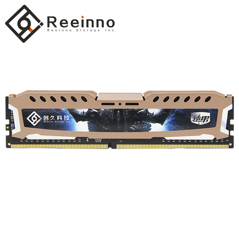 Reeinno ddr4 memoria ram ddr4 4GB / 8GB / 16GB 2400MHz desktop 1.2V 17-17-17-39 PC4-19200 CL 17 288pin