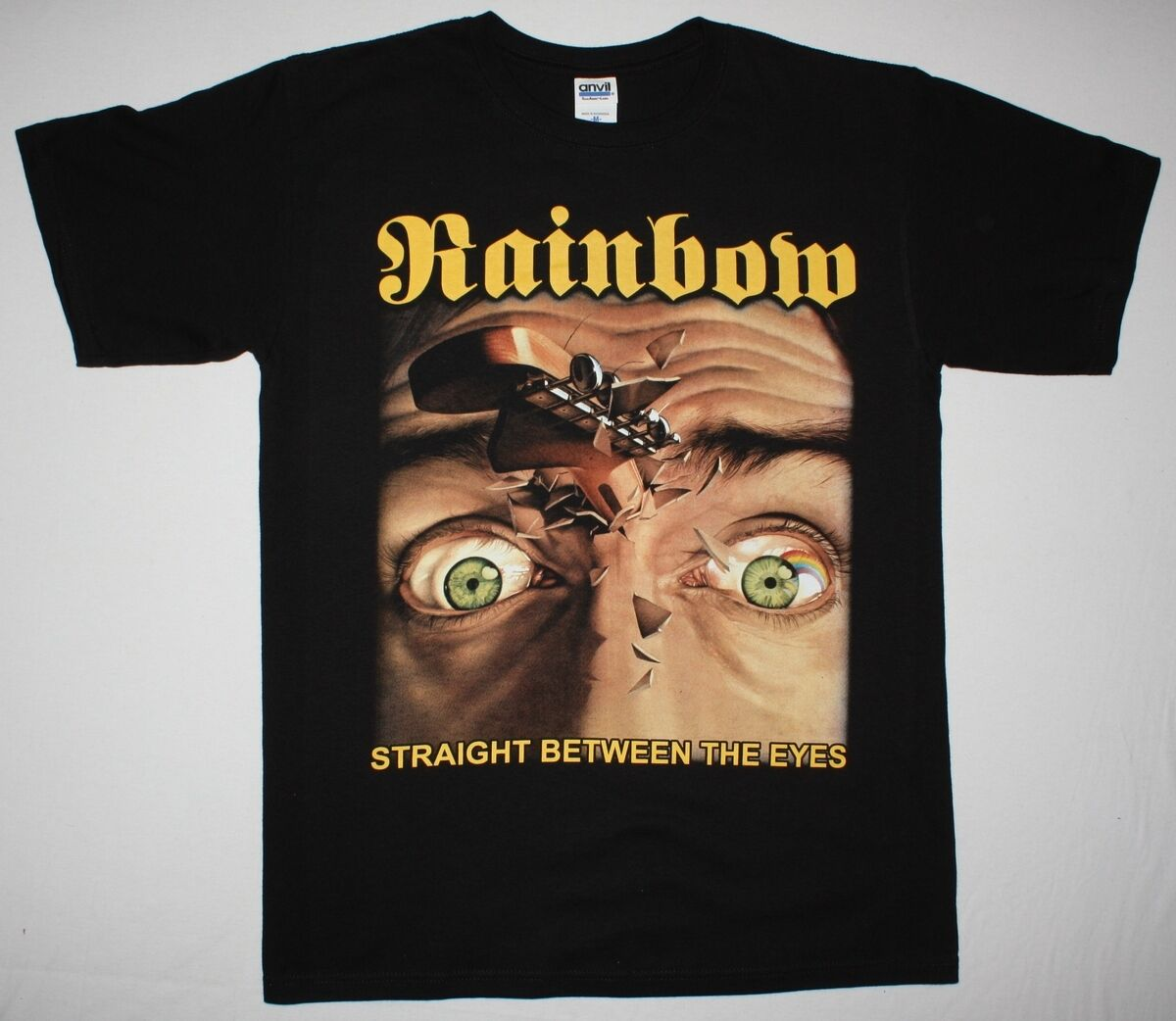 OFFICIAL LICENSED RAINBOW RISING T SHIRT ROCK BLACKMORE DIO