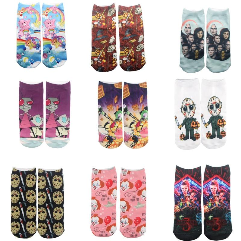 Wholesale 10pcs/lot Ghost It Casual Socks Invisible Socks Short Low Cut No Show Socks Cotton Funny Happy Boat Socks