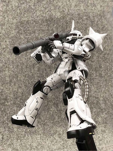Image 5 - COMIC CLUB IN STOCK MS metal soldier MB 1/100 metal build gundam white wolf zaku II alloy robot high quality action figure
