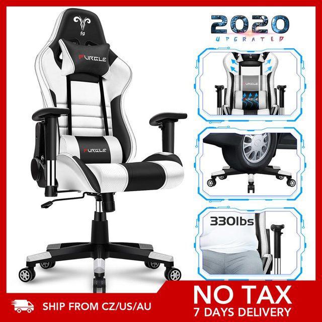 Furgle 7 DASY DELIVERY WCG Gaming Chair Computer Chair for Office Chair Furniture Lying Household Chair LOL Game Racing Chairs