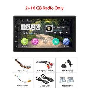 "Image 5 - Hikity 안 드 로이드 8.1 자동차 멀티미디어 플레이어 GPS 네비게이션 2 Din HD Autoradio WiFi USB 7 ""MirrorLink 자동차 스테레오 백업 수신기"