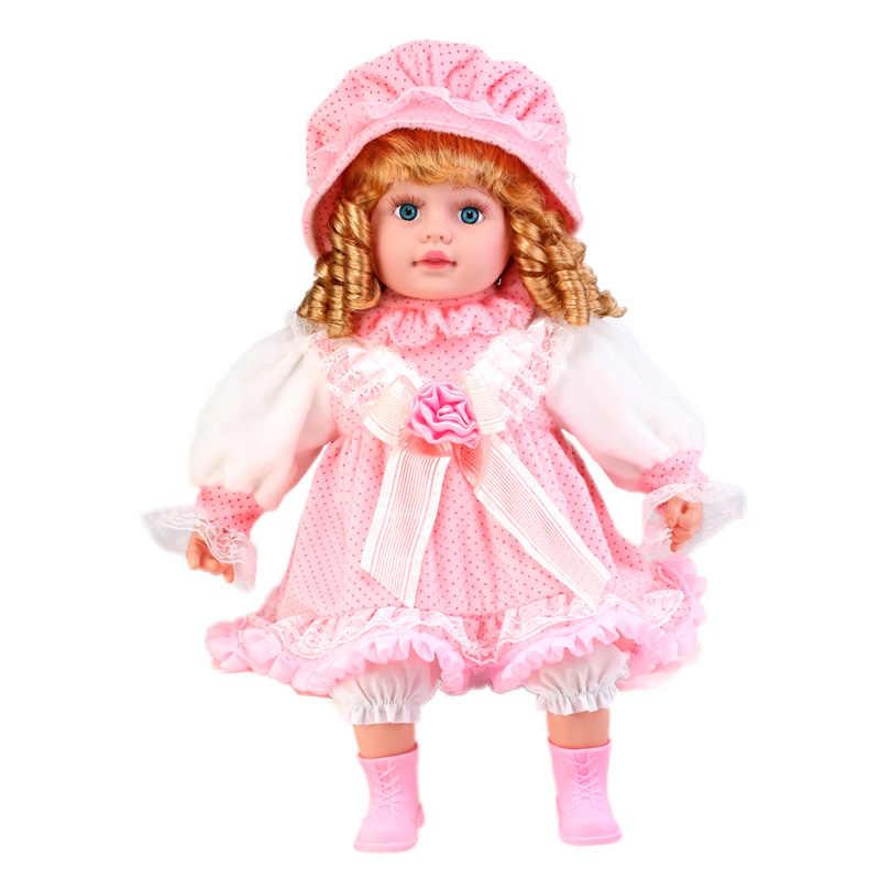24 polegada silicone realista menina boneca boneca lol brinquedos diálogo eletrônico boneca macia criança playmate menina boneca