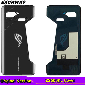 Original New For Asus ROG phone ZS600KL Back Battery Cover Door Rear Glass Housing Case For Asus  ZS600KL Z01QD Battery Cover контроллер игровой asus gamevice asus zs600kl черный [90ac0390 bcl001]