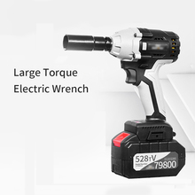 Electric-Wrench Torque Industrial High-Power Woodworking Auto-Repair Large