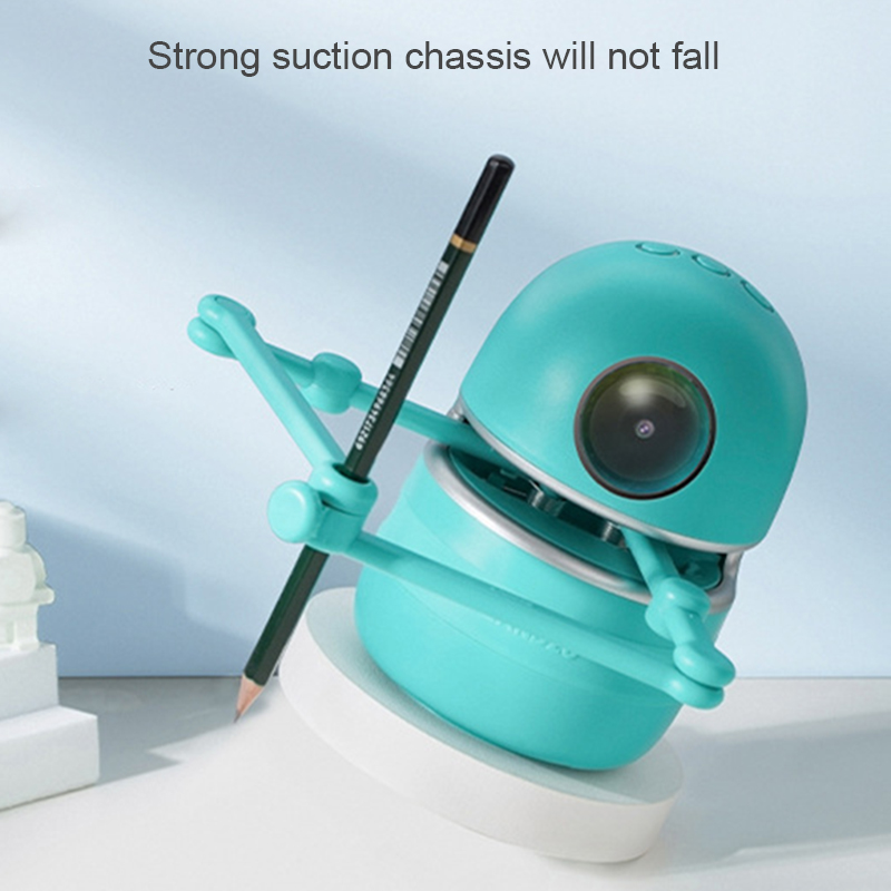 Hot Selling Chinese Drawing Robot Kids Educational Toys Student Learning Tools Robot Puzzle Toys LBV