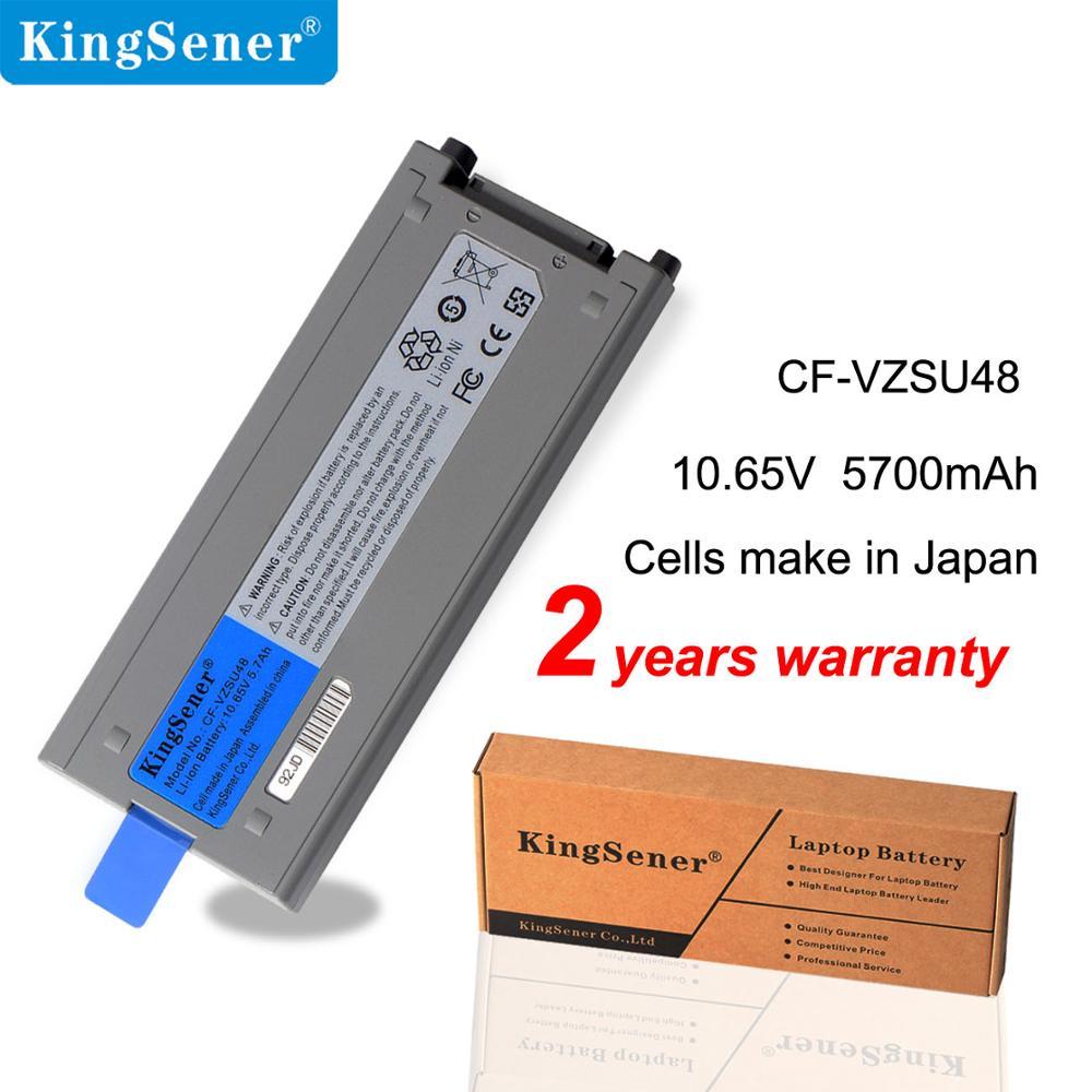 KingSener CF-VZSU48 Laptop Battery For Panasonic CF-VZSU48 CF-VZSU48U CF-VZSU48R CF-VZSU28 CF-VZSU50 CF-19 CF19 Toughbook