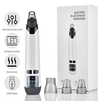 Blackhead Remover T Zone Pore Acne Pimple Removal Face Deep Nose Cleaner Vacuum Suction Facial