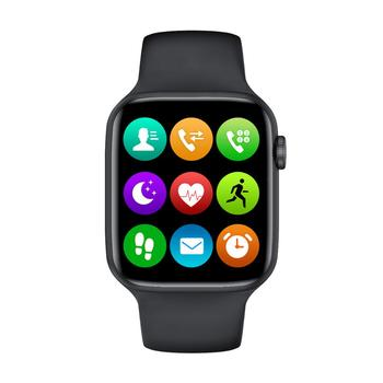 цена на 2020 New IWO W26 Smart Watch Series 6 1.75 inch Full Touch Screen ECG PPG Heart Rate Monitor Bluetooth Call K8 PRO Smartwatch