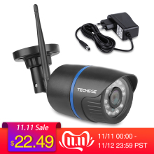 Techege Ip-Camera Tf-Card-Storage Audio-Record Network WIFI Night-Vision Waterproof Onvif