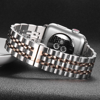 Strap For Apple Watch band 44mm 40mm iwatch band 42mm/38mm Stainless Steel bracelet watchband apple watch series 5 4 3 2 1 44 mm