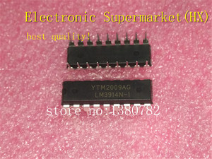 Image 1 - Free Shipping 100pcs/lots LM3914N LM3914 DIP 18 New original  IC In stock!