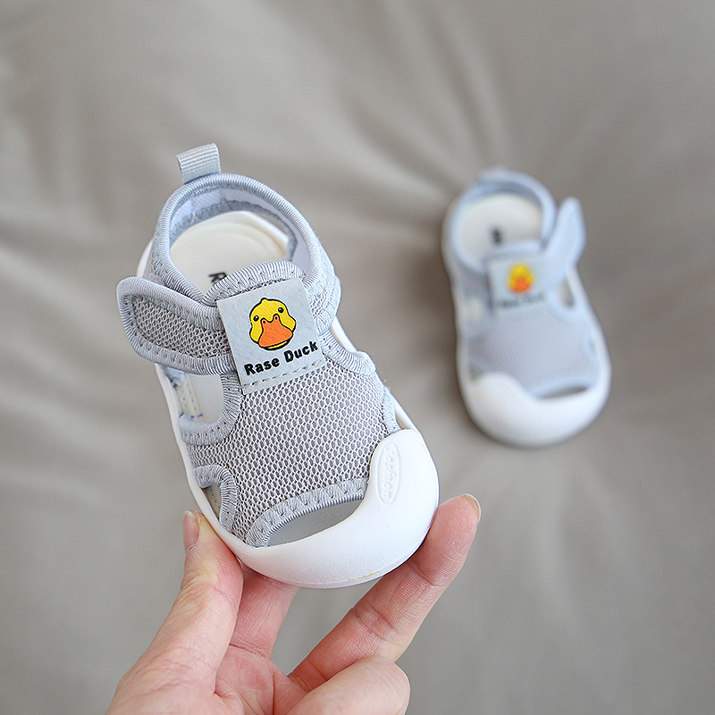 2020 Summer Infant Toddler Shoes Baby Girls Boys Shoes Non-Slip Breathable Kids Children Anti-collision Casual Beach Shoes | Happy Baby Mama