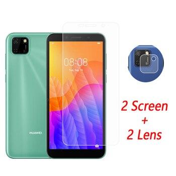 Перейти на Алиэкспресс и купить Защитное стекло для объектива камеры, закаленное стекло для Huawei Y5p, Y5p, Y6p, Y7p, Huawei Y5p