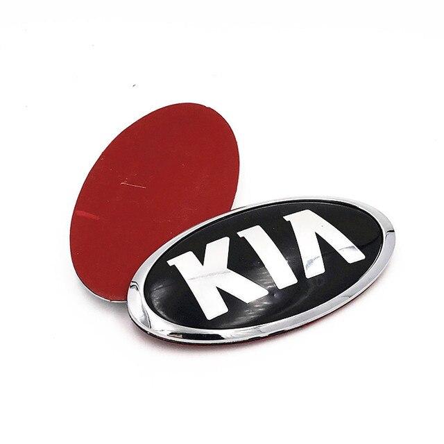 ABS Alloy Chrome Sticker for KIA K4 K5 K2 K3 KX3 Cerato Forte Auto Grille Front Trunk Tailgate Emblem Exterior Modification 3