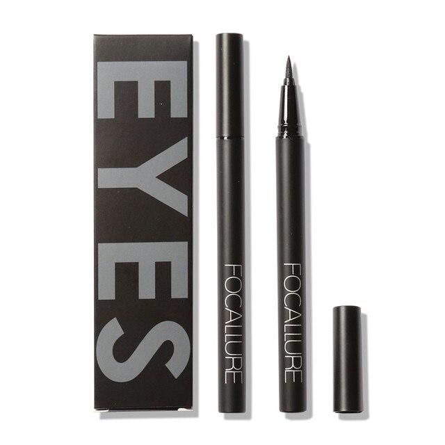 FOCALLURE Professional Liquid Eyeliner Pen Make up Eye Liner Pencil 24 Hours Long Lasting Water-Proof Eyeliner 5