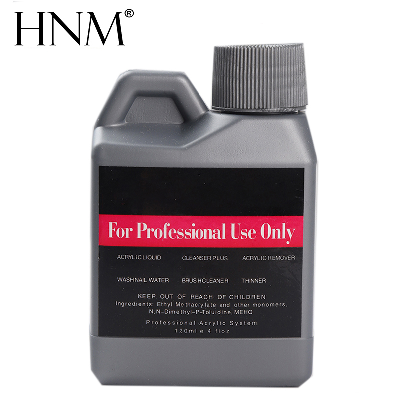HNM Liquid Acrylic Powder Nail Art 120ml Aalon Professional Use Acrylic Liquid Monomer Manicure Liquid Powder Tools Nails Tips