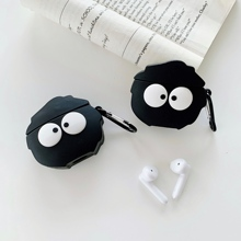 For OPPO Enco free Cartoon 3D Cute Japan Anime Coal Ball Bluetooth Wireless Silicone Earphone Cover