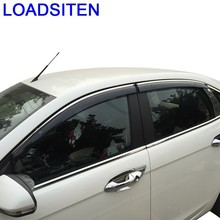 цена на Auto Styling Anti Car Rain Window Visor Awnings Shelters FOR Ford Ecosport Edge Escort Everest Fiesta Focus Kuga Mondeo