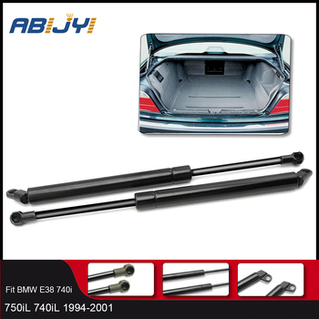 2Pcs Rear trunk Lift Gas spring Support Struts Shock Springs Prop Rod For BMW E38 740i 750iL 740iL /51248171480 image