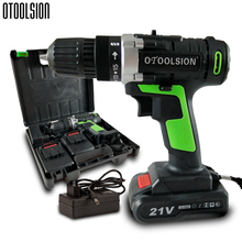 21V 12V Rechargeable Screwdriver Rechargeable Drill Electrical Tools Screwdriver Charging Electric Screwdriver Set + Drill Parts