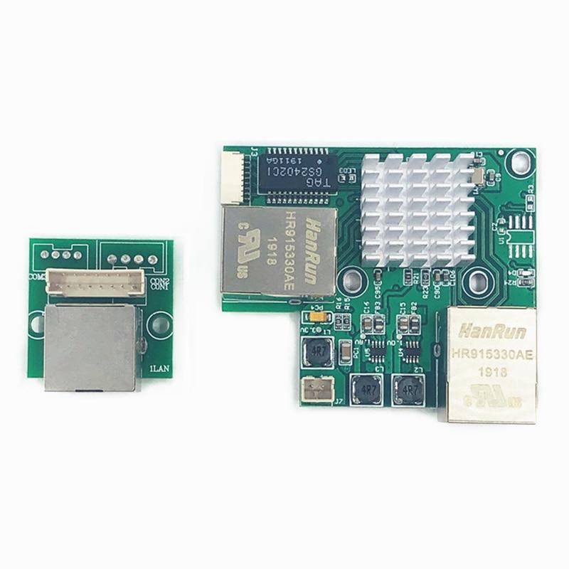 Industrial Ethernet Switch Module 3Ports Unmanaged10/100/1000mbps  Celsius OEM Auto-sensing Ports PCBA Board OEM Motherboard