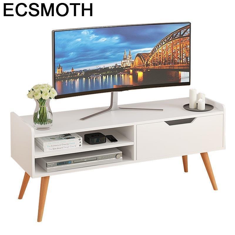 Meuble Tele Standaard Riser Support Ecran Ordinateur Bureau Lift Wood Mueble Monitor Table Living Room Furniture Tv Stand