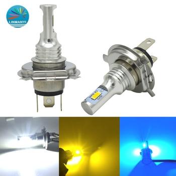 цена на Mini Canbus H4 H7 LED Car Headlight 12V 8000LM 6000K 6000K 12000K Lamp H3 H1 HB3 H8 H9 H11 Motorcycle Fog light Bulb
