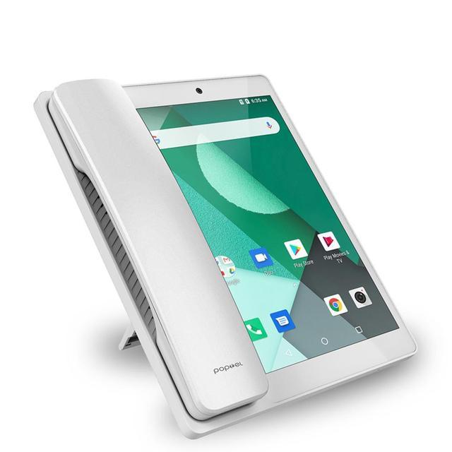 هاتف محمول LTE 4G ذكي لا سلكي ثابت يعمل بنظام الأندرويد 8.0 مع شبكة 4G بشريحة جهاز فيديو عالمي عالمي يدعم كبار السن مزود بخاصية WIFI 1