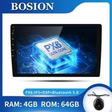 Bosion android 10.0 octa núcleo rádio do carro estéreo gps navi áudio player de vídeo unidade pc wi fi bt ips amp 7851 obd dab + swc ips dsp
