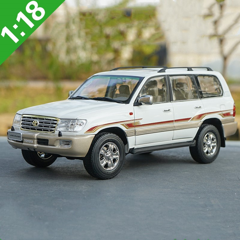 High quality 1:18 Toyota Coolroad LC100 alloy model,simulated die-cast metal SUV model,exquisite gift collection,free shipping