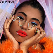 Diamant Steampunk lunettes de soleil cadres strass lunettes cadres pour femmes vague lunettes de soleil cadres pour lunettes pour hommes décoration