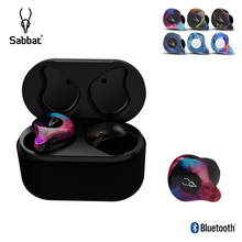 Sabbat TWS Bluetooth 5.0 Earphones IPX5 Waterproof Handfree Headsets Noise Reduc
